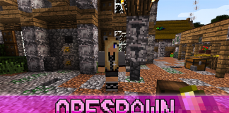orespawn mod for minecraft