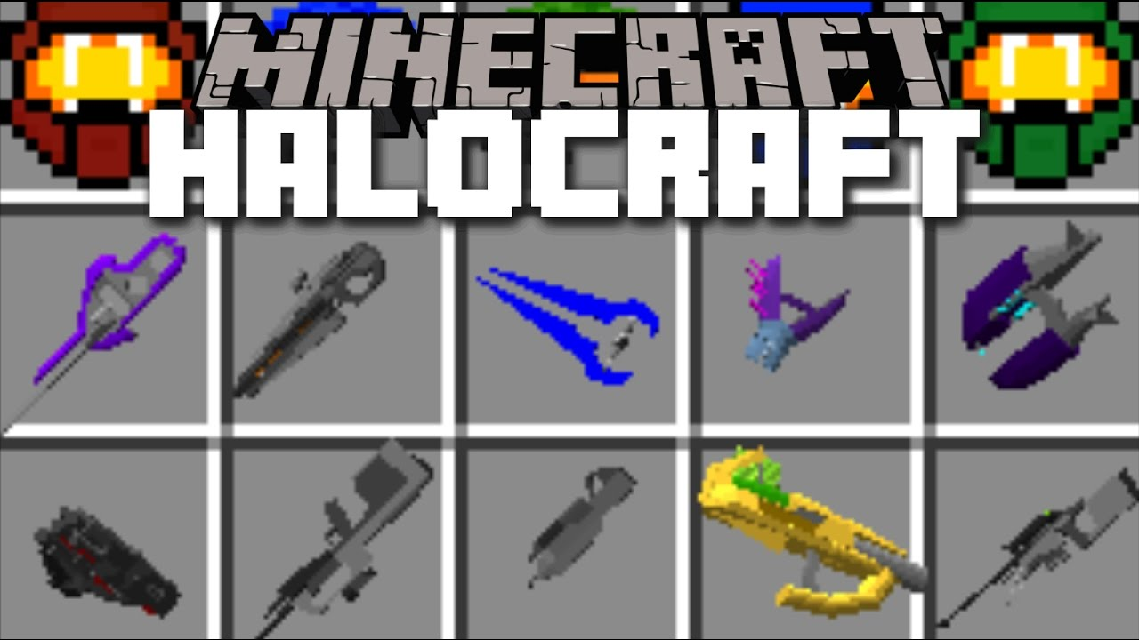 Halocraft Mod