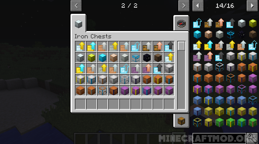 Iron Chests Mod