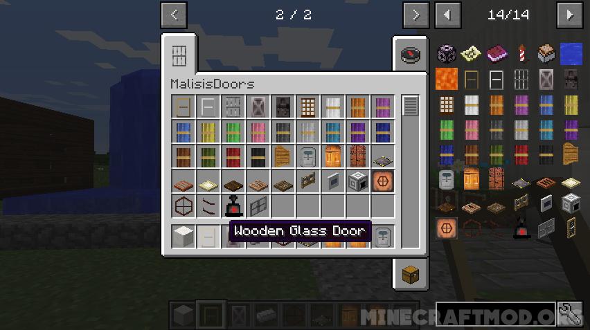 Malisis Doors Mod