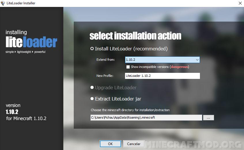 liteloader mod loader (2)