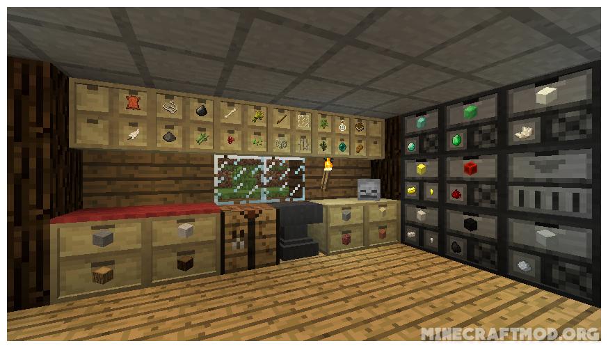 Storage Drawers Mod 1