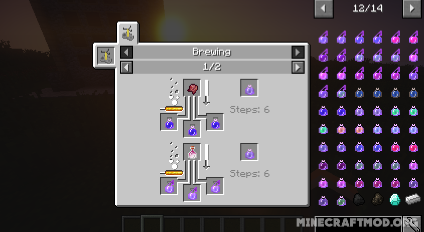 Combined Potions Mod