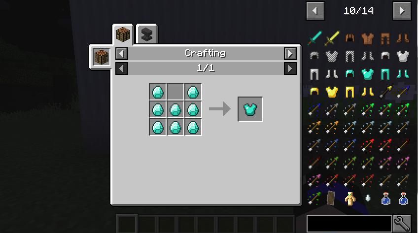 Just Enough Items Mod (2)