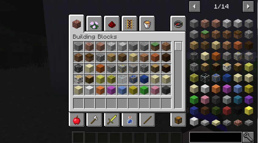 Just Enough Items Mod (6)