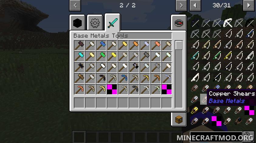 Base Metals Mod (4)