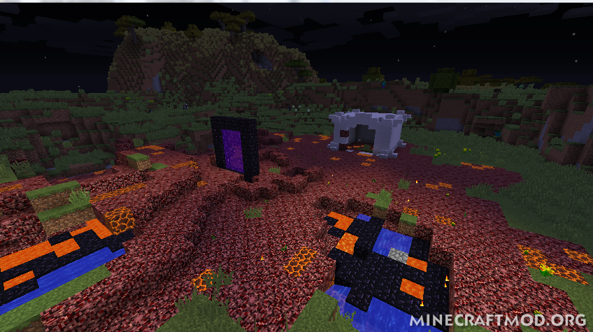 The Creeping Nether Mod (2)