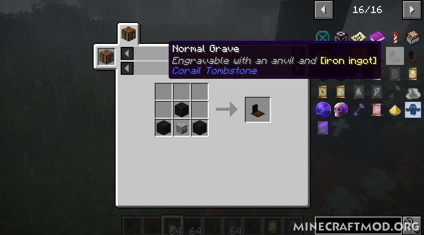 Corail Tombstone Mod (3)