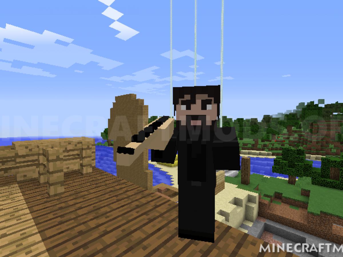 Minecraft Fortnite Mod 1.11 2 Fortnite Mod 1 17 1 16 5 1 12 2 For Minecraft