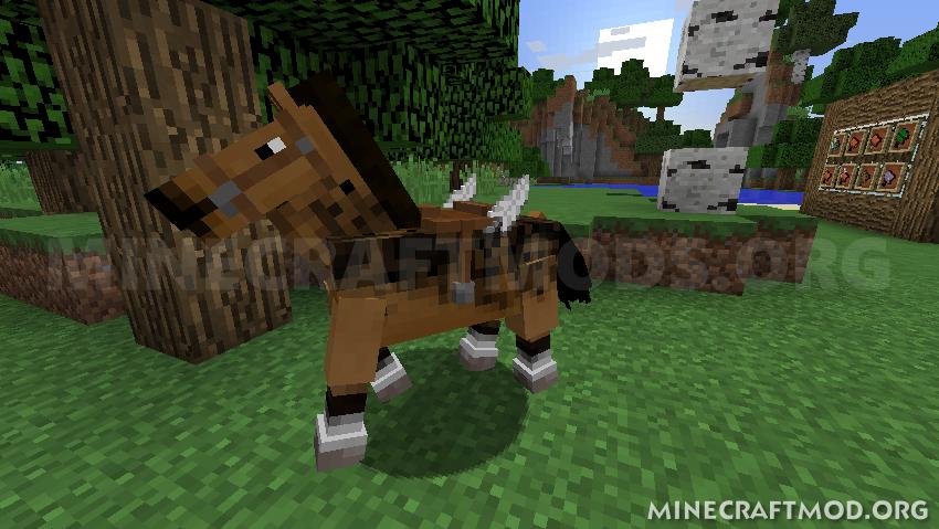 Horse Tweaks Mod 1 13/1 12 2 for Minecraft | Minecraft Mods